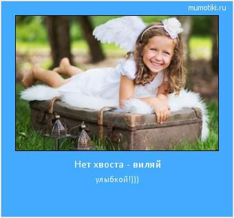 Нет хвоста - виляй улыбкой!))) #мотиватор